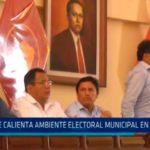 Se calienta el ambiente electoral municipal en Trujillo