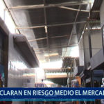 Piura: Defensa civil declara en riesgo medio a Mercado Anexo