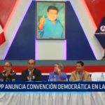 APP anuncia convención democrática en La Libertad