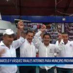 Marcelo y Vásquez rivales internos para municipio provincial por APP