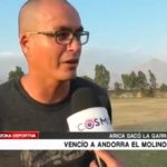 Sport Arica venció a Andorra  y sacó la garra