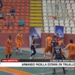 Armando Padilla estará en Trujillo para la clinica de básquetbol