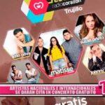 Artistas nacionales e internacionales se darán cita en concierto gratuito