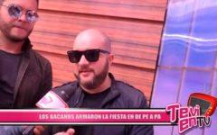 Local: Los Bacanos armaron la fiesta en De Pe A Pa