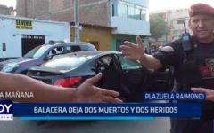 Trujillo: Balacera deja dos muertos y dos heridos