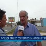 Avenida Antenor Orrego: Convertido en botadero y baño público