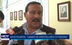 "David Figueroa: ""Cámara de videovigilencia sí funciona"""