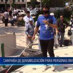 Chiclayo: Campaña de sensibilización para personas invidentes