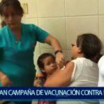 Piura: Lanzan campaña de vacunación contra la influenza