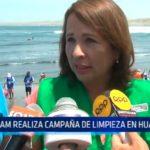 Trujillo: MINAM realiza campaña de limpieza en Huanchaco