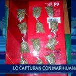 Piura: Lo capturan con 12 bolsas de marihuana