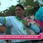 Nacional: Carlos Álvarez evaluda su candidatura a Lima
