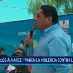 """Carlos Álvarez: """"Paren la violencia contra los niños"""""""