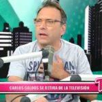 Nacional: Carlos Galdós se retira de la televisión