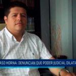 Caso Horna: Denuncian que Poder Judicial dilata proceso
