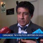 Juez Carhuancho: Fallo de Corte Interamericana debe acatarse