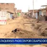 Piura: Vecinos de  Catacaos siguen  padeciendo  por  colapso  de  desagües