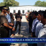Piura: Rinden homenaje a héroes del Alto Cenepa