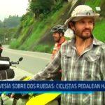 Travesía sobre ruedas: Ciclistas pedalean hasta Lima