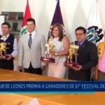 Club de Leones premia a ganadores del 67° Festival de la Primavera