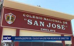 Chiclayo: División dentro del colegio San José por regreso de director