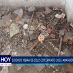 COISHCO: Obra de coliseo cerrado luce abandonada