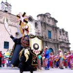 Concurso de patrullas y comparsas en Cajamarca