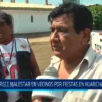 Trujillo: Crece malestar en vecinos por fiestas en Huanchaquito