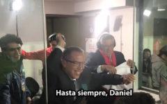 Así celebró Daniel Peredo con los hinchas tras la clasificación de Perú al Mundial