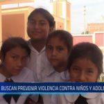 Chiclayo: Buscan prevenir violencia contra niños y adolecentes