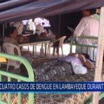 Chiclayo: Cuatro casos de dengue en Lambayeque durante el 2018