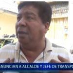 Piura: Denuncian a Alcalde y Jefe de transportes