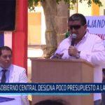 Chiclayo: Gobierno central designa poco presupuesto a las regiones