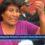 Trujillo: Desinformación provocó violenta reacción en familiares