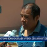 Florencia de Mora: Detonan bomba casera en vivienda de fabricante de calzado