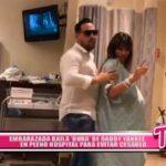"""Embarazada baila """"Dura"""" de Daddy Yankee en pleno hospital para evitar cesárea"""