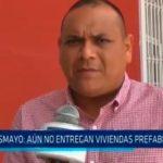 Retraso en entregas de viviendas prefabricadas a damnificados del Niño Costero