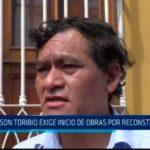 Trujillo: Wilson Toribio exige inicio de obras por reconstrucción