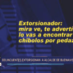 Chimbote: Delincuentes extorsionan  a alcalde de Buenavista Alta