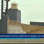 Funcionario justifica apertura de burdel en Huanchaquito