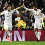 El Real Madrid superó por 3-0 al PSG en los octavos de final de la Champions League