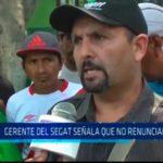 Trujillo: Gerente del SEGAT señala que no renunciará
