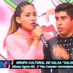 """El grupo cultural de salsa """"Salsuni  UNT"""" visitaron el set de Bajo Control"""