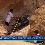 Chiclayo: Cuerpo encontrado en Reque pertenece a mototaxista desaparecido