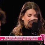 Hija de Gian Marco cantó un huayno en reconocida Escuela Musical de EE.UU.