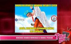 Nacional: Hinchas rinden homenaje a Daniel Peredo