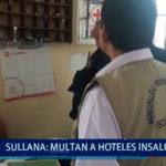 Piura: Multan a hoteles insalubres