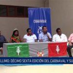 Chiclayo: Illimo: décimo sexta edición del carnaval y sus yunzas