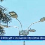MPT no levanta observaciones por iluminación de Plaza Mayor