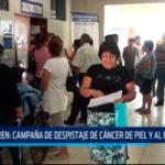IREN: Campaña de despistaje de cáncer de piel y al estómago